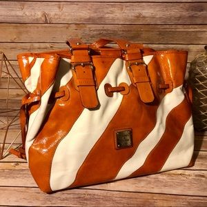 Dooney & Bourke Orange Zebra Bag 🦓